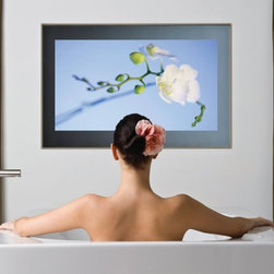 """Aquavision 40"""" Framed Waterproof LED TV - Luxury bathroom televisions by Aquavision, available from UK Bathrooms."""