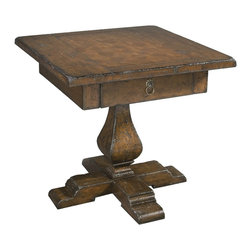 Hekman - Havana Servant End Table - This is a beautiful piece of top-quality furniture that's perfect for your Man Cave, Game Room, Office or anywhere you would like to decorate and show your personal style.