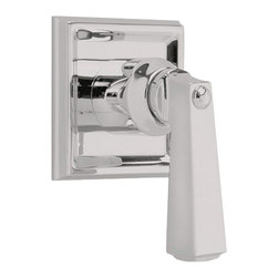 American Standard - American Standard T555.700.295 Town Square Volume Control Trim Kit, Satin Nickel - American Standard T555.700.295 Town Square On/Off Volume Control Valve Trim Kit, Satin Nickel. This Valve Trim Kit controls on/off and volume of spray outlet, has a metal lever handle and fits models 7001.000 or 7011.000 on/off volume control valves
