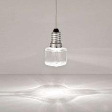 Pendant Lighting Kristal E Cube Pendant by Terzani