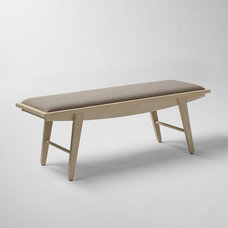 Contemporary Indoor Benches by West Elm