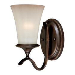 Vaxcel Lighting - Vaxcel Lighting W0040 Sonora Transitional Wall Sconce - Vaxcel Lighting W0040 Sonora Transitional Wall Sconce