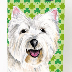 Caroline's Treasures - Westie St. Patrick's Day Shamrock Portrait Michelob Ultra Koozies for slim cans - Westie St. Patrick's Day Shamrock Portrait Michelob Ultra Koozies for slim cans SC9290MUK Fits 12 oz. slim cans for Michelob Ultra, Starbucks Refreshers, Heineken Light, Bud Lite Lime 12 oz., Dry Soda, Coors, Resin, Vitaminwater Energy, and Perrier Cans. Great collapsible koozie. Great to keep track of your beverage and add a bit of flair to a gathering. These are in full color artwork and washable in the washing machine. Design will not come off.