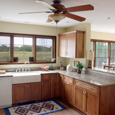 Traditional Kitchen by Carmel Builders