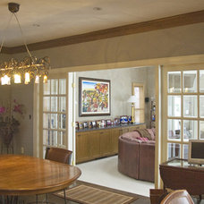 Eclectic Dining Room by Barbara Jacobs Color and Design