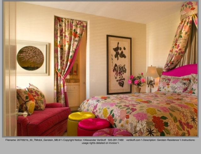 Asian Bedroom by Tracy Murdock Allied ASID