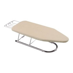 Household Essentials Silver Tabletop Mini Ironing Board - A tabletop ironing board that can stow away easily when not in use is definitely a must-have on my list.