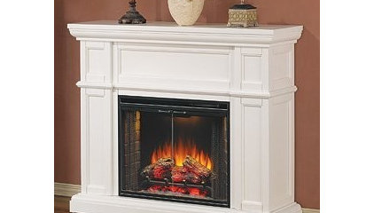 Amazon.com: Classic Flame Artesian Free Standing Electric Fireplace in White: Ho
