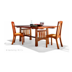 Arts & Crafts Dining Table with CloudLift side Chairs - Arts & Crafts Dining Table with our Cloudlift side Chair.