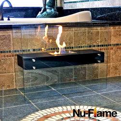 Nu-Flame La Strada Floating Glass Floor Bio Fireplace - Nu-Flame La Strada Floating Glass Floor Bio Fireplace