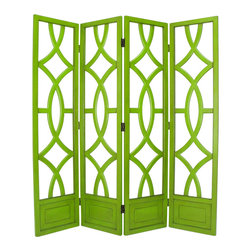 Wayborn - Wayborn Charleston Room Divider in Moth Green - Wayborn - Room Dividers - 2295G -