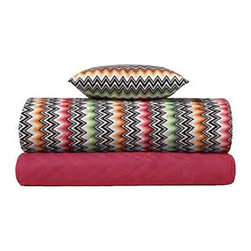 Missoni Home - Missoni Home | Ned Rose Sham Set - Design by Rosita Missoni.