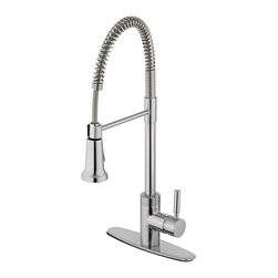 Estora - Pull -Down Kitchen Faucet - Estora 15-51121-SS Pull -Down Kitchen Faucet Stainless Steel