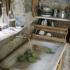 Mediterranean Kitchen Sinks by Ancient Surfaces