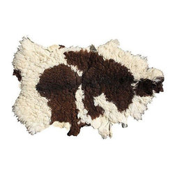 Pre-owned Vintage Large Beni Ourain Sheepskin - Lets get down and rustic with this vintage Moroccan Beni Ourain sheepskin. This incredible organic plush wool is sure to enhance any decor!