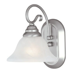 Livex Lighting - Livex Coronado Bath Light Brushed Nickel -6101-91 - Livex products are highly detailed and meticulously finished by some of the best craftsmen in the business