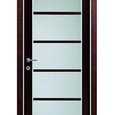 Contemporary Interior Doors by Gene Sokol / Euroluxe Interiors