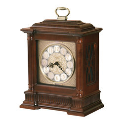 Howard Miller - Howard Miller Dual Chime Bracket Style Mantel Clock | AKRON - 635125 AKRON