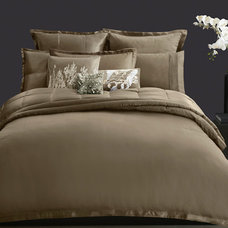 contemporary bedding by Donna Karan Home Collections