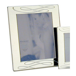 """Waterford - Waterford Ballet Ribbon 8"""" x 10"""" Silver Frame - Waterford Ballet Ribbon 8"""" x 10"""" Silver Frame"""