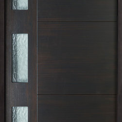 Modern EURO Collection (Custom Engineered Entry Doors) - Custom Euro Collection Solid Entry Doors