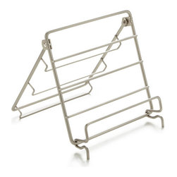Reading Rack for Stillwell Tub Caddy - The Stillwell Tub Caddy reading rack is adjustable so books and magazines stay dry and can be read hands-free at the perfect height and angle.