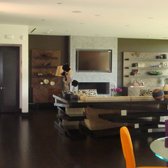 contemporary living room by Sean Monahan Design