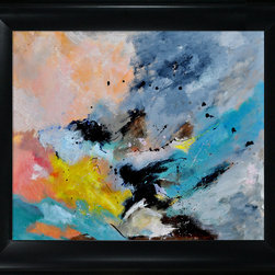 overstockArt.com - Ledent - Abstract 1811801 Oil Painting - Canvas print of a colorful abstract painting that is originally oil on canvas 39.4 x 31.5 inches. Part of a series of abstract paintings. Pol Ledent was born in 1952 in Belgium. He came to painting in 1989. He started with watercolor but felt rapidly that oil painting would match his way of being. He is a self-taught painter. Nevertheless he took some drawing lessons in a Belgian academy. After taking part into numerous group exhibitions, some galleries in Belgium proposed to him to exhibit his works. Dinant, Bouillon, Brussels , Paris and Moscow in October 2006.