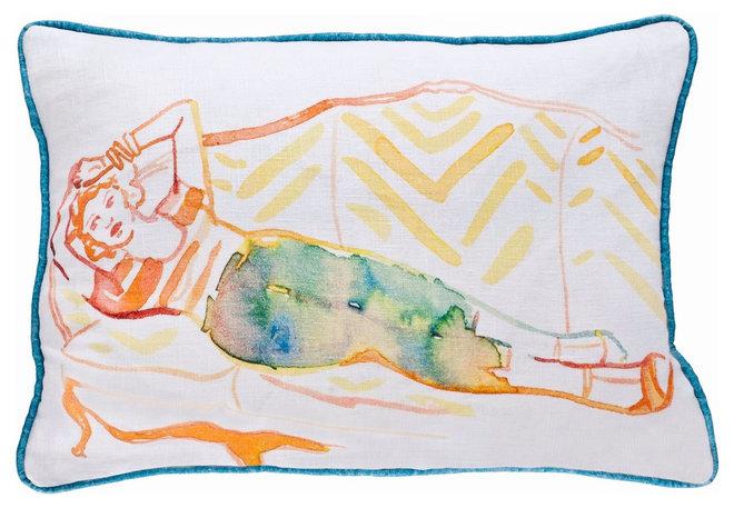 Modern Decorative Pillows by AphroChic Shop