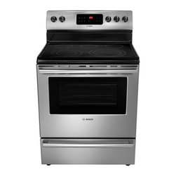 "Bosch 500 Series 30"" Electric Freestanding Range, Stainless Steel 