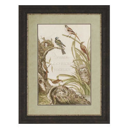 Paragon - Sanctuary for Birds - Framed Art - 1354 - Each product is custom made upon order so there might be small variations from the picture displayed. No two pieces are exactly alike.