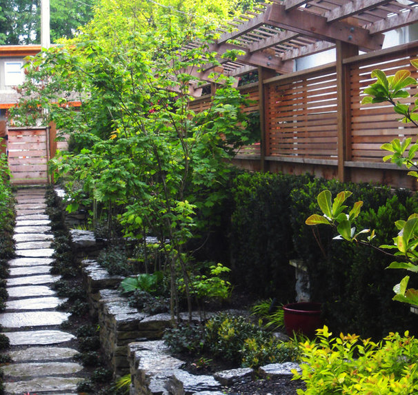Asian Landscape by Swick's Organic Landscaping