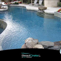 swimming pools and spas Bead Crete 'Aqua Marine'