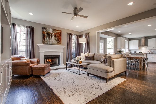 Transitional  by RN Interior Design