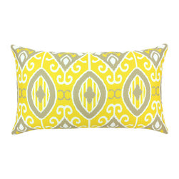 """DD - Eva Outdoor Pillow 24"""" x 14"""" - This lovely Eva Outdoor Pillow will add fun and flare to your outdoor space."""