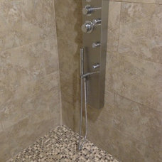 Contemporary Showers Walk in Shower