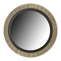 Kenroy - Kenroy 60025 Montgomery Wall Round Mirror - To add elegance to any space, Montgomery's understated classic design will do the trick.  The layered Antique Silver finish will add a rich luster to your foyer, bedroom or living room.  Overall Product Dimensions:  36 Inch Diameter Mirror Size:  27 Inch Diameter Silver Mirror