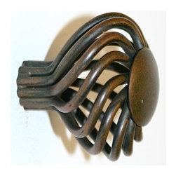 Alno Inc. - Alno Creations Eclectic 40mm Birdcage Knob (1 1/2 Inch) Rust A504-Rst - Alno Creations Eclectic 40mm Birdcage Knob (1 1/2 Inch) Rust A504-Rst