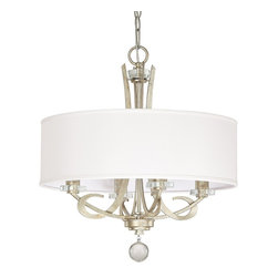 Capital Lighting - Capital Lighting 4264WG-568 Hutton Transitional Chandelier - Capital Lighting 4264WG-568 Hutton Transitional Chandelier