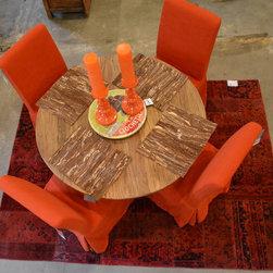 Orange Over Dyed Rug - Andy Higgins
