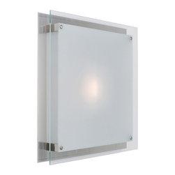 Access Lighting - Access Lighting 50032-BS/FST Flush-Mount - Access Lighting 50032-BS/FST Vision Flush-Mount