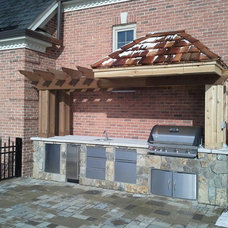 Traditional Patio by Designer Spaces Inc