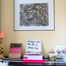 MadeByGirl: Nuha's Home Office....