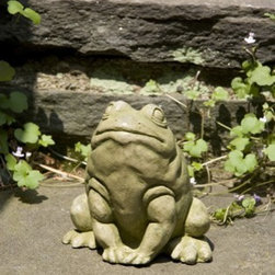 Jumper - Add a whimsical touch to your home or garden with this charming Jumper. Ready to take a giant leap, this little guy waits for the perfect moment to make his move. This statue will look wonderful placed on a patio pedestal or on an indoor shelf even.