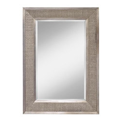 Feiss - Feiss Mirror - 30 in. x 42 in. - This Mirror has a Silver Finish.