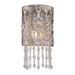 Minka-Lavery - Minka-Lavery Lucer0 - Jessica Mcclintock Home 1-Light Wall Sconce - 6841-276 - Illumination
