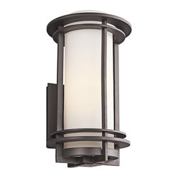 Kichler Lighting - Kichler Lighting 49346AZ Pacific Edge Bronze Outdoor Wall Sconce - 1, 150W Medium