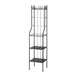 Jon Karlsson - RÖNNSKÄR Shelving unit - Shelving unit, black