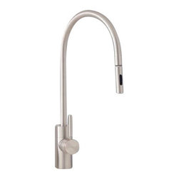 Waterstone - Waterstone Contemporary Positive Lock Pull Down Faucet - 5300, Chocolate Bronze - Contemporary Positive Lock Pull Down Faucet