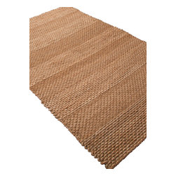 Jaipur - Natural Fiber Naturals Treasure 8'x10' Rectangle Braid Gold Area Rug - The Naturals Treasure area rug Collection offers an affordable assortment of Natural Fiber stylings. Naturals Treasure features a blend of natural Braid Gold color. Natural of 100% Jute the Naturals Treasure Collection is an intriguing compliment to any decor.